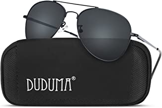 Duduma Sunglasses for Mens Womens Mirrored Sun Glasses Shades with Uv400