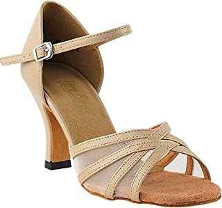 Women`s Ballroom Dance Shoes Tango Wedding Salsa Shoes 6027EB Comfortable-Very Fine 3[Bundle of 5]