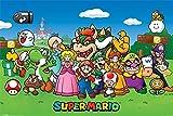 Poster Super Mario Charaktere Artland Größe 61 x 91,5 x
