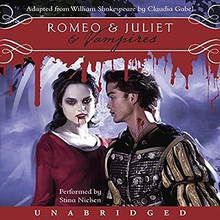 Romeo & Juliet & Vampires audiobook cover art