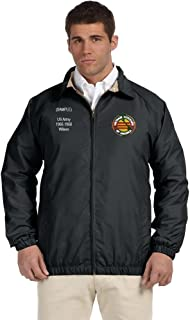 Vietnam Veteran Personalized Custom Embroidered Lightweight All Season Jacket