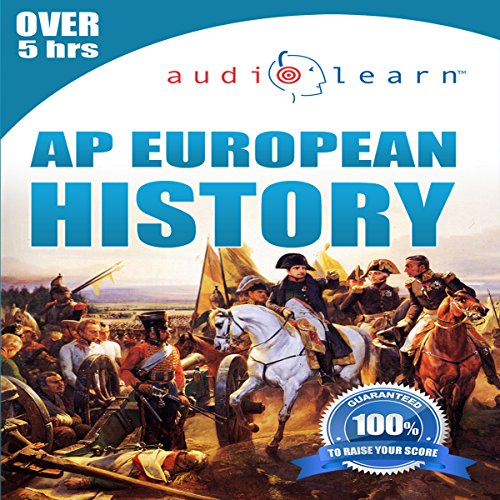 2012 AP European History Audio Learn audiobook cover art