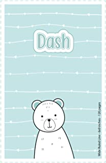 Dash: Personalized Name Wide Ruled Line Paper Notebook | 6x9 inches | 120 pages: Notebook for drawing, writing notes, jour...