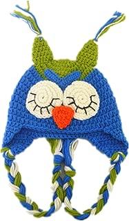 Toddler Baby Boys Owl Crochet Animal Hat