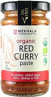 Mekhala Organic Gluten Free Thai Red Curry Paste 3.53oz
