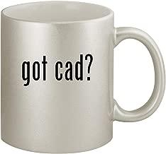 got cad? - Ceramic 11oz Silver Coffee Mug, Silver