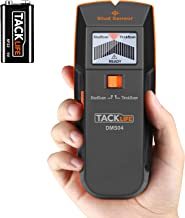 Stud Finder, DMS04 Stud Sensor, 3 in 1 Edge Finding Electronic Wall Scanner, Wood Stud/Live AC Wire Scanner with Sound Warning Indicator