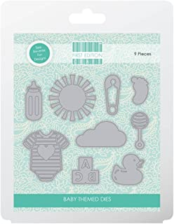 Trimcraft First Edition Metal Paper Craft a Card Die Set - Baby Theme
