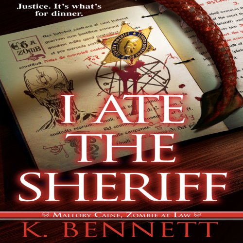 I Ate the Sheriff audiobook cover art
