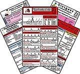 Intensiv-Station Karten-Set - Analgesie & Sedierung, Blutgase & Differentialdiagnose, Herzrhythmusstörungen, Inkompatibilitäten intravenöser Medikamente, Reanimation - Verlag Hawelka