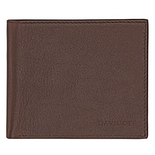 DAVIDOFF Geldbörse 6cc+2P, Brown