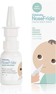 NoseFrida All-Natural Saline Nasal Snot Spray by Frida Baby
