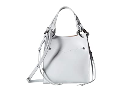 Rebecca Minkoff Kate Mini North/South Tote (Optic White) Handbags