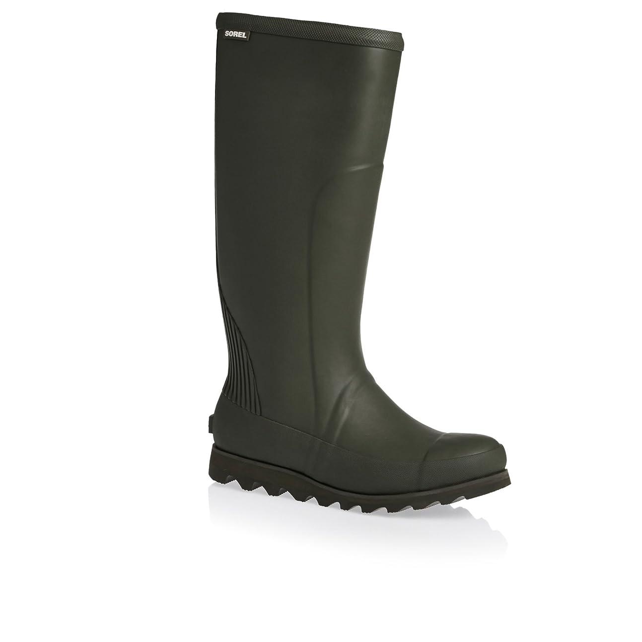 類人猿名前でシャイニング[ソレル] レディース 女性用 シューズ 靴 ブーツ レインブーツ Joan Rain Tall - Nori/Zest [並行輸入品]