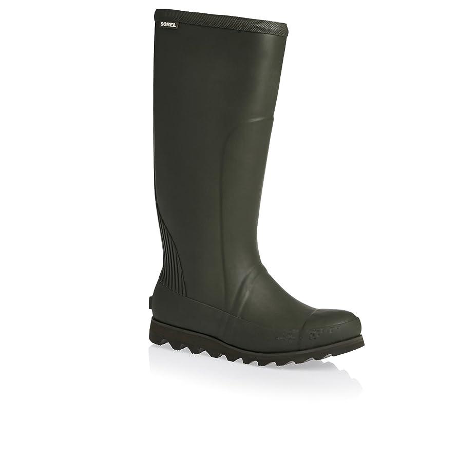 確認する観光日付[ソレル] レディース 女性用 シューズ 靴 ブーツ レインブーツ Joan Rain Tall - Nori/Zest [並行輸入品]