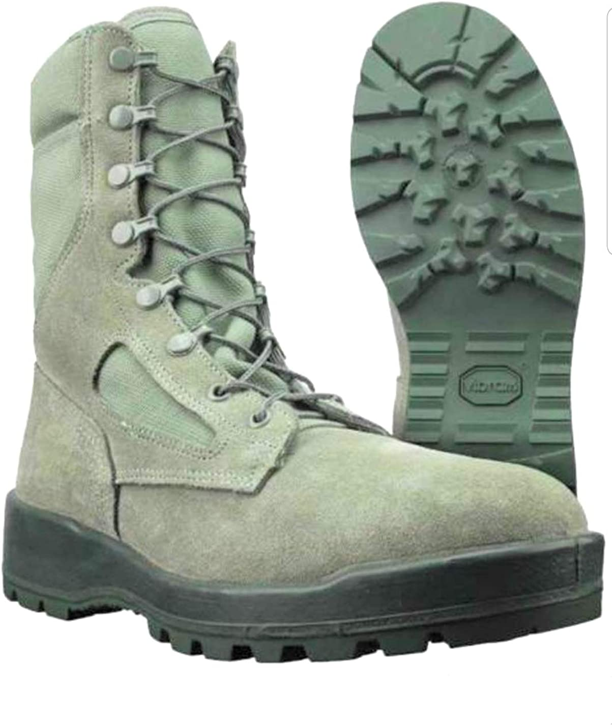 MCRAE AIR Force Temperate Weather Military SAGE Green Women's Boots