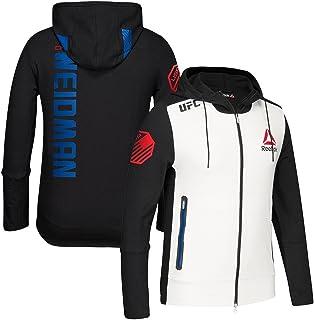 514003b5 adidas Chris Weidman UFC Fight Kit Reebok (White/Black/Blue) Walkout Hoodie