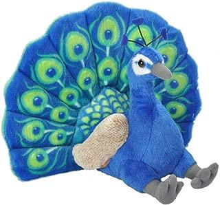 Wild Republic Peacock Plush, Stuffed Animal, Plush Toy, Gifts for Kids, Cuddlekins 12 Inches