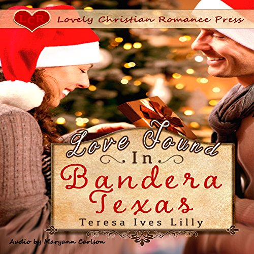 Love Found in Bandera, Texas audiobook cover art