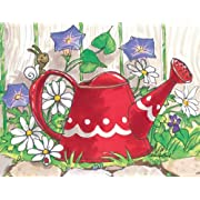 Suzy's Note Card Collection Stationery, Suzy Ducken's Watering Can - 10870