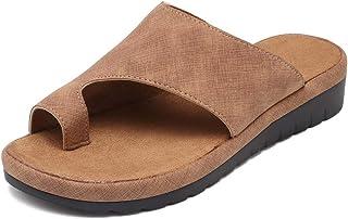 5469d02bc VANDIMI Platform Sandal Shoes for Women Summer Beach Travel Shoes  Comfortable Fashion Slides Light Weight Thong
