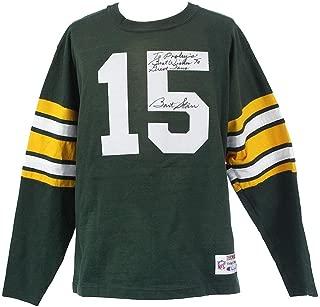 Bart Starr Signed Jersey - Champion Throwback COA - JSA Certified - Autographed NFL Jerseys