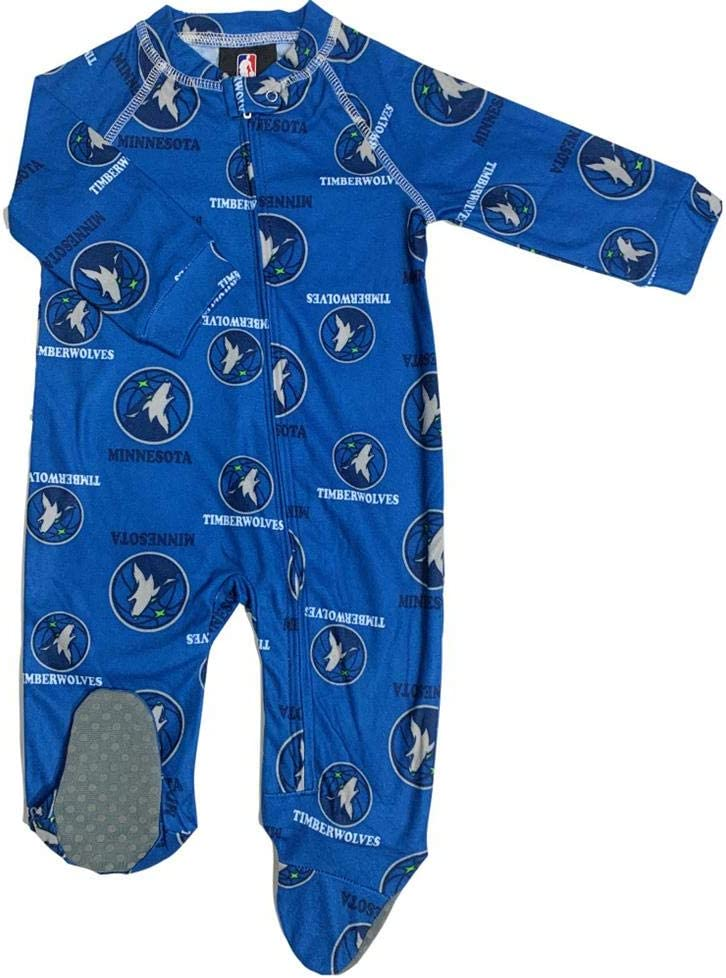 Outerstuff Infant Toddler Minnesota Coverall Zip Timberwolves Safety Shipping included and trust Up