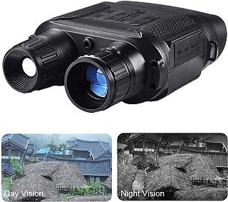 LZDseller01 - Prismáticos Digitales HD de visión Nocturna para Exteriores con Pantalla TFT LCD Gran Angular HD cámara Digital infrarroja con 2 Niveles de Zoom Negro 22 * 14 * 6cm