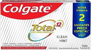 Creme Dental Colgate Total 12 Clean Mint 90G Promo 2 Un