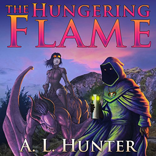 The Hungering Flame audiobook cover art