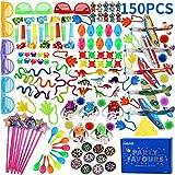 nicknack Rellenos de piñata para niños, Fiesta de cumpleaños de 150 Piezas Loot Bag Filler Juguete para Fiesta de niños, Juegos de Juguetes de Juegos Escolares Premios
