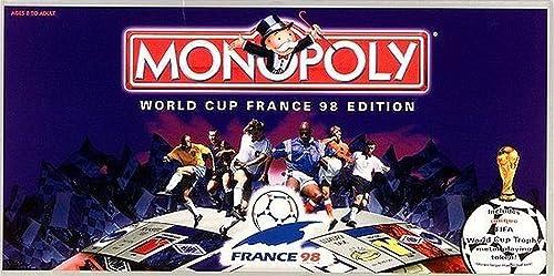 salida de fábrica Waddingtons Board Game 19618 19618 19618 - Monopoly World Cup France 98 Edition  grandes precios de descuento