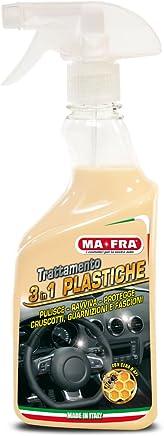 Ma-Fra Trattamento 3 in 1 Plastiche, Detergente per Interni Auto, 500 ml