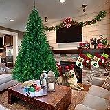 YZ-YUAN Árbol de Navidad Artificial de 6 pies con bisagras