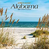 Alabama, Wild & Scenic 2020 7 x 7 Inch Monthly Mini Wall Calendar, USA United States of America Southeast State Nature (English, French and Spanish Edition)