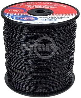 Rotary Trimmer Line .080 Md Spool Black Vortex Line