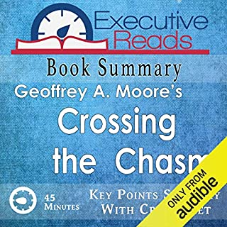 Book Summary: Crossing the Chasm audiobook cover art