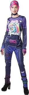 Fortnite Brite Bomber Adult Costume Jumpsuit w/Cap & Accessories