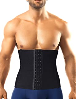 Men Waist Trainer Corset Trimmer Belt Weight Loss Fitness Body Shaper Workout Back Support Girdle Compression Belly Band