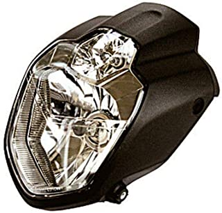 Scheinwerfer URBAN mit Standlicht schwarz seitliche Befestigung MT 03 Optik E geprüft