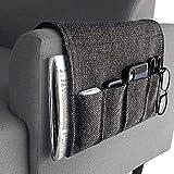 YJLWE Remote Storage Organizer for Recliner Couch Durable 5 Pockets Armchair Caddy Organizer