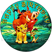 lion king edible cake image