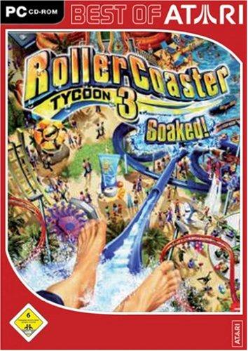 Roller Coaster Tycoon 3: Soaked! [Best of Atari]