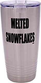 snowflake tumbler