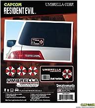 Resident Evil Umbrella Corporation Decal Staff Parking Sticker - Umbrella Corporation Stickers - Umbrella Corporation Car Decal - Umbrella Corporation Car Accessories