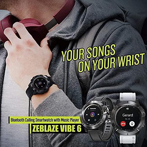 reloj inteligente Bluetooth Smartwatch reproductor de música recibido/hacer llamadas frecuencia cardíaca 25 días vida de la batería deportes reloj-B