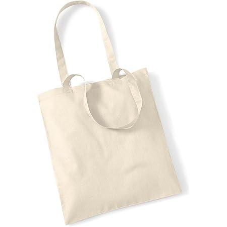 SAIBANGZI Premium Stoffbeutel Baumwolltasche Beutel Shopper Umhängetasche viele Farbe natural