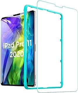 ESR iPad Pro 11 フィルム (2020/2018)用 ガラスフィルム 液晶保護 硬度9H HDクリア強化ガラス液晶保護フィルム [強度2倍] [耐スクラッチ] iPad Pro 11インチ(2020/2018)用