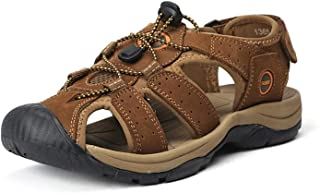 Genuine Leather Shoes Summer and Slippers Big Size 38-47
