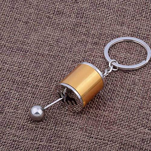 htrdjhrjy Dependable Auto Modifiziert Gang Schalthebel Gangschaltung Metall Schlüsselanhänger Schlüssel Geschenk Mehrfarbig - Gd10.8×2.2cm